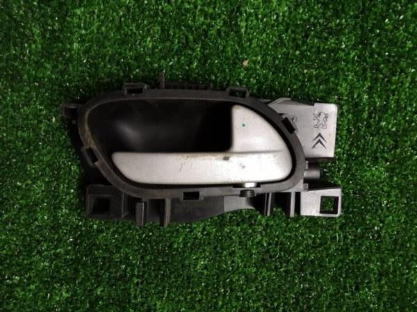 Ручка двери внутренняя Peugeot 207 WC ET3J4 2010 передняя правая