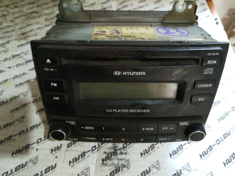 Магнитофон Hyundai Elantra HD G4FC 2008