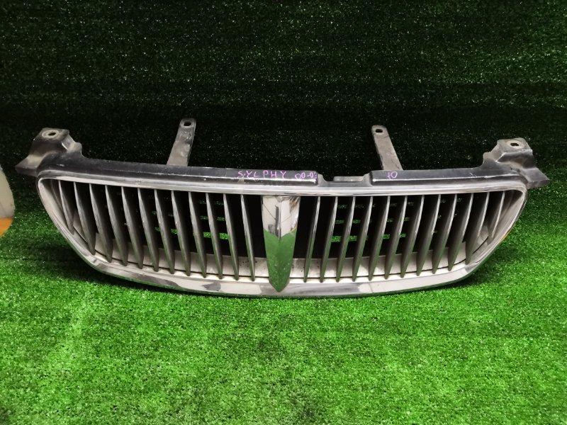Решетка радиатора Nissan Bluebird Sylphy QG10 передняя