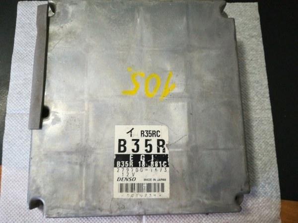 Блок управления двигателем Mazda Demio DW3W B3 2001