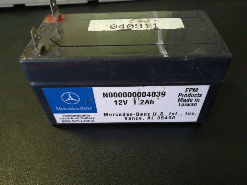 Аккумулятор Mercedes-Benz Ml 500 W164 113.964 2005