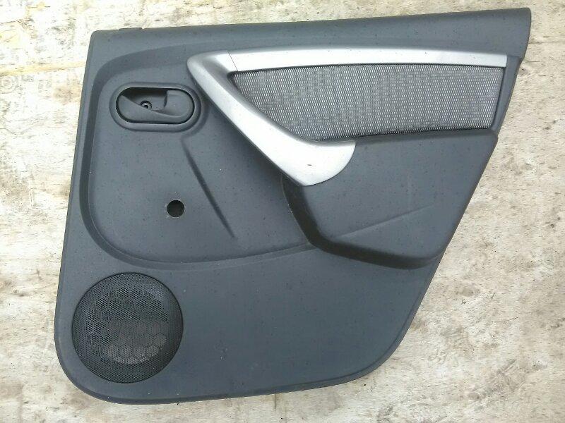 Обшивка двери Renault Duster HSA K4MA606 2013 задняя правая