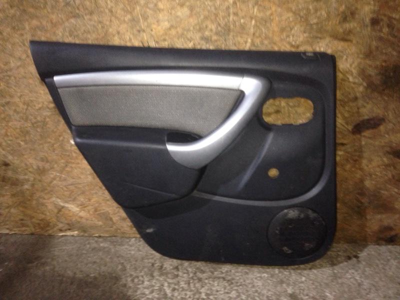 Обшивка двери Renault Duster HSA K4MA606 2013 задняя левая