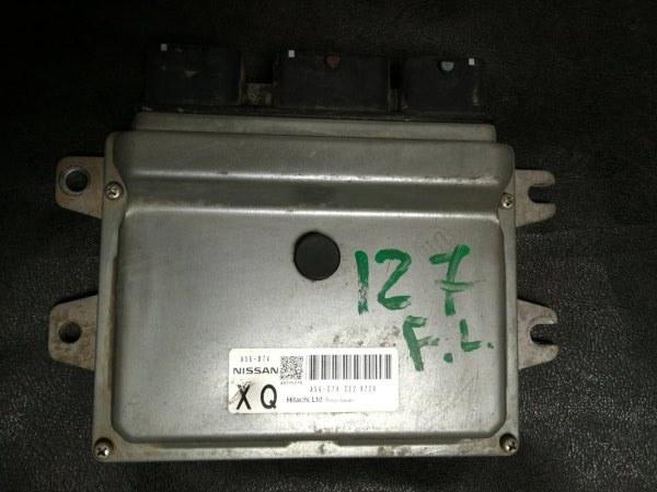 Блок управления двигателем Nissan Nv200 VM20 HR16DE 2009