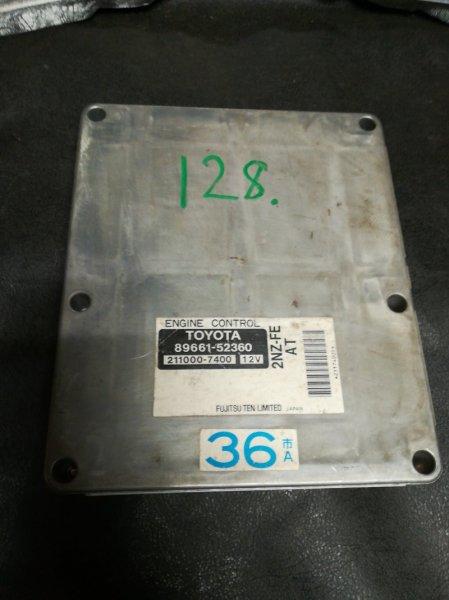 Блок управления двигателем Toyota Funcargo NCP20 2NZ-FE 2000