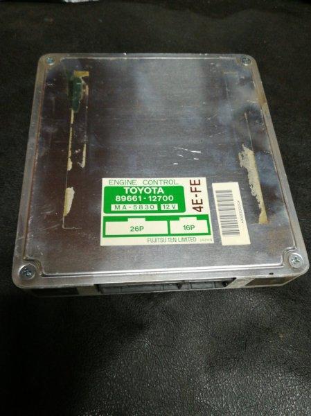 Блок управления двигателем Toyota Sprinter EE101 4E-FE 1992