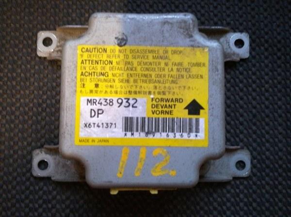 Блок управления аирбаг Mitsubishi Pajero Io H66W 4G93 1998