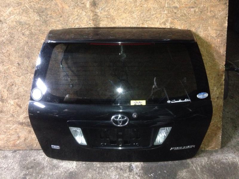Дверь багажника Toyota Corolla Fielder ZZE-122 1ZZ-FE 2005