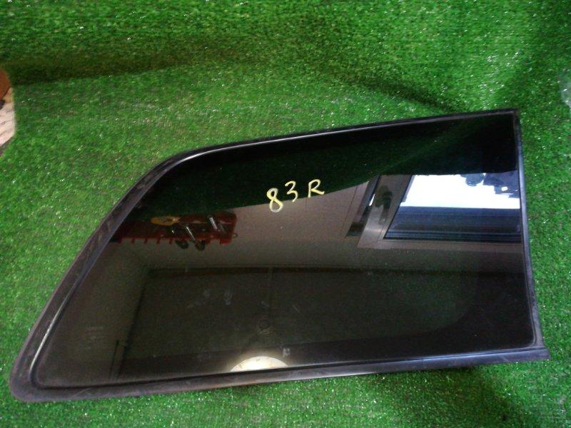 Стекло собачника Toyota Corolla Fielder ZZE-122 1ZZ-FE 2005 заднее правое