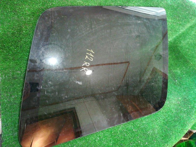Стекло собачника Mitsubishi Pajero Io H66W 4G93 1998 заднее правое