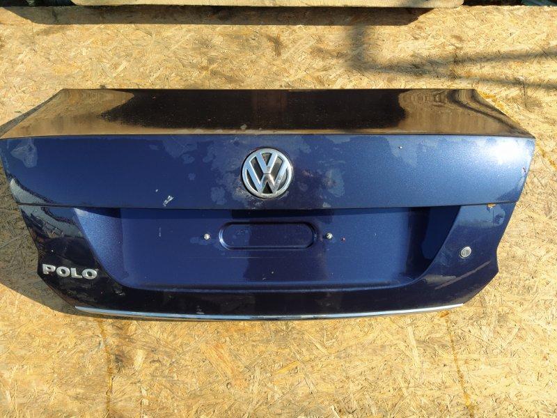 Крышка багажника Volkswagen Polo 2013