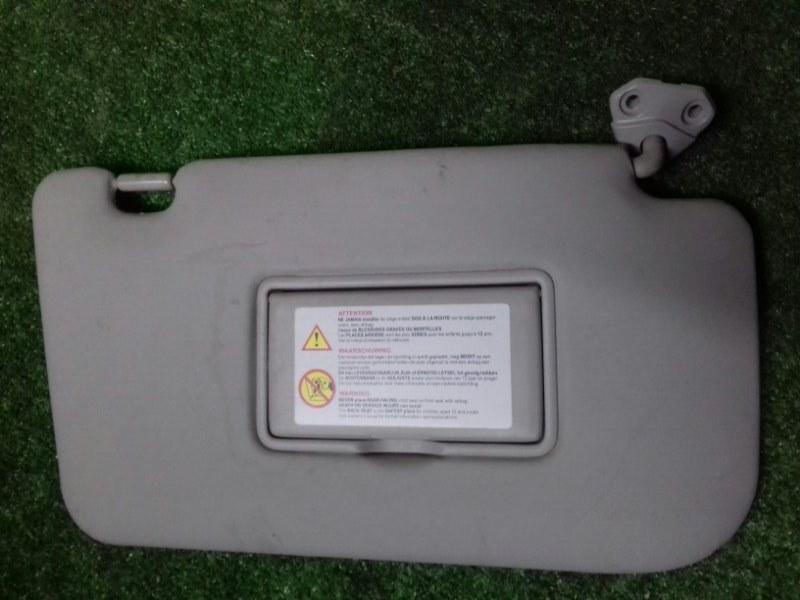 Козырек солнцезащитный Nissan X-Trail NT31 MR20 2011 правый