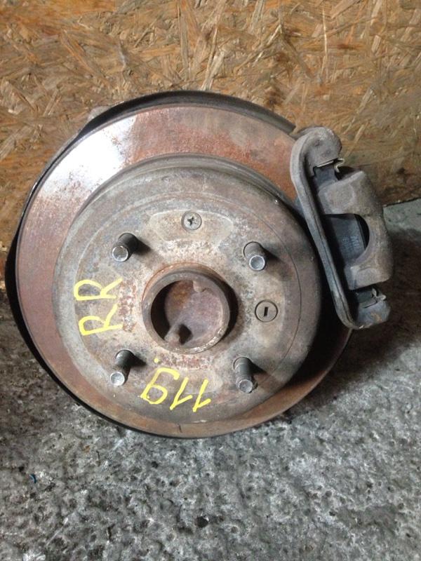 Тормозной диск Chevrolet Lacetti J200 F14D3 2012 задний