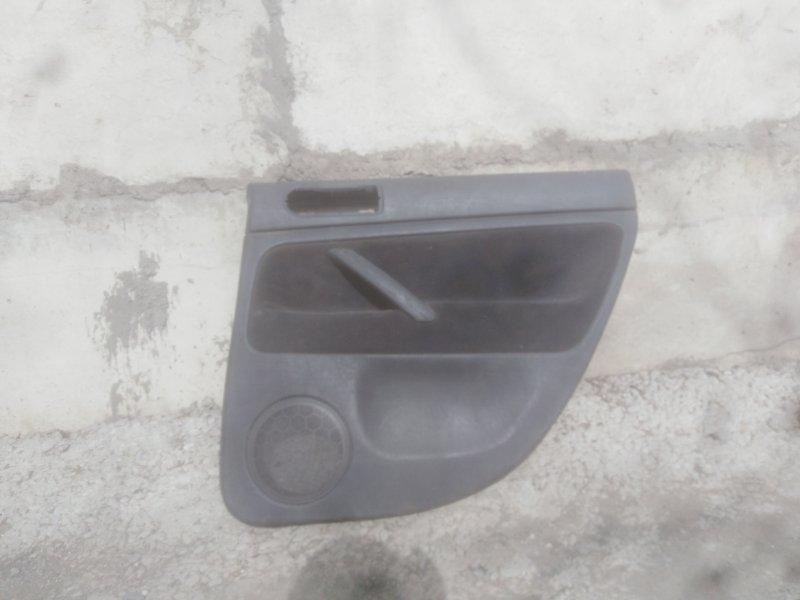 Обшивка двери Volkswagen Passat B5 3B AHL 1998 задняя правая