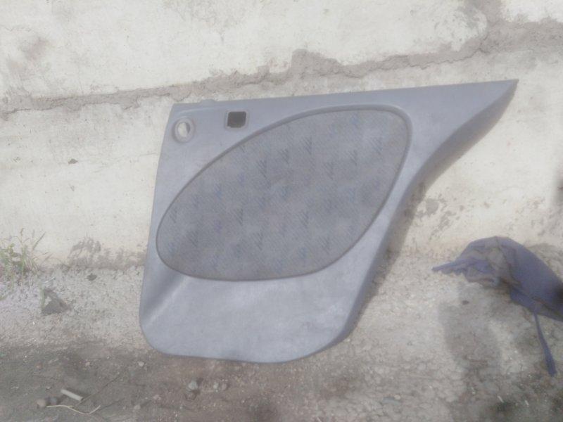 Обшивка двери Toyota Raum EXZ10 5E-FE 2000 задняя правая
