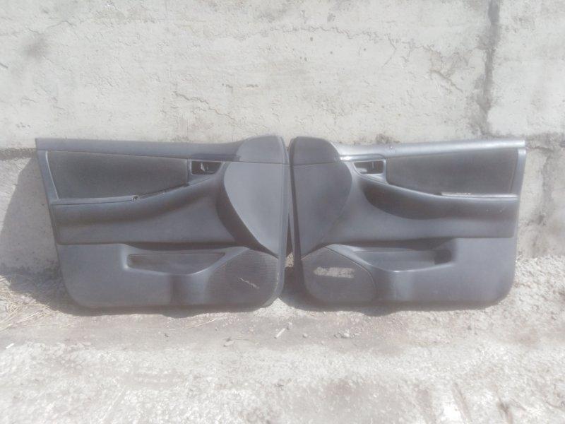 Обшивка двери Toyota Corolla Fielder ZZE122 1ZZ-FE 2005