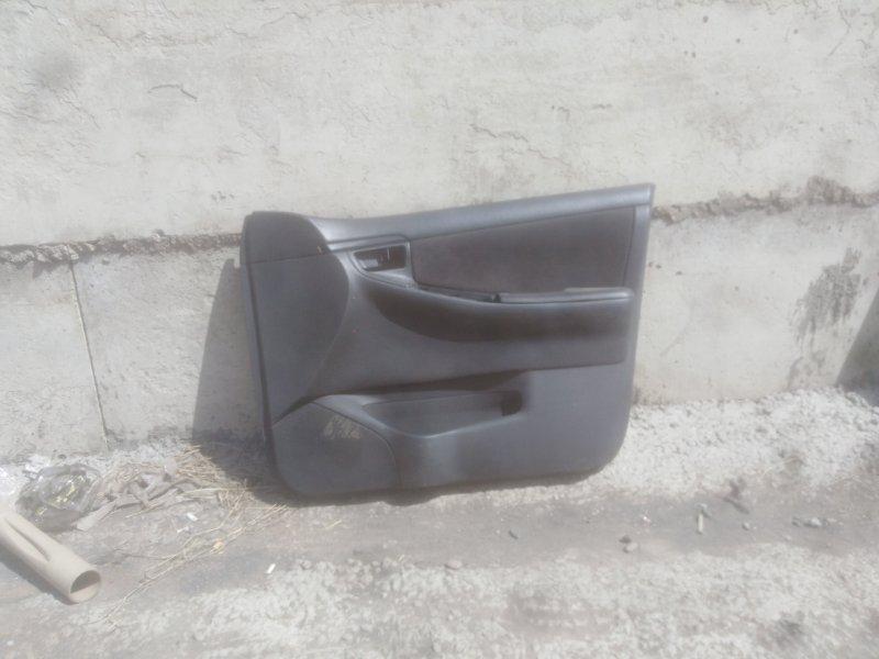 Обшивка двери Toyota Corolla Fielder ZZE-122 1ZZ-FE 2005 передняя правая