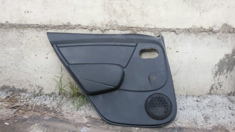 Обшивка двери Renault Sandero Stepway BS11 K7MF710 2013 задняя левая
