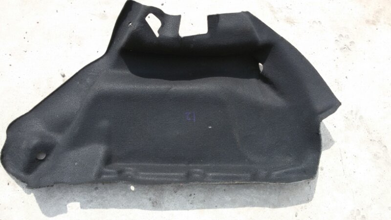 Обшивка багажника Peugeot 207 WC ET3J4 2010 задняя левая