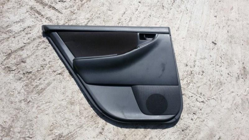 Обшивка двери Toyota Corolla Fielder ZZE122 1ZZ-FE 2005 задняя левая