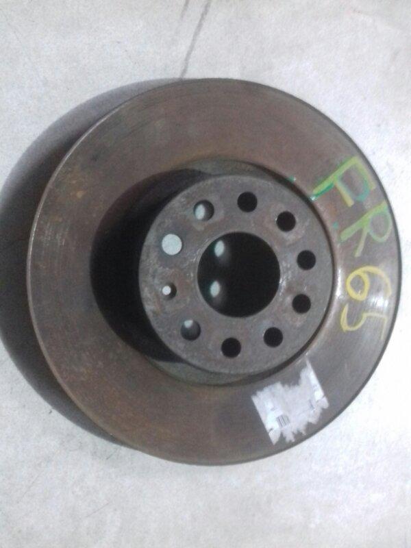 Тормозной диск Volkswagen Passat B6 3C2 BVY 2006 передний правый