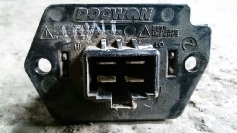 Реостат печки Daewoo Matiz KLYA A08S3 2012
