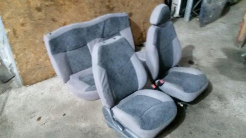Сиденья Daewoo Matiz KLYA A08S3 2012