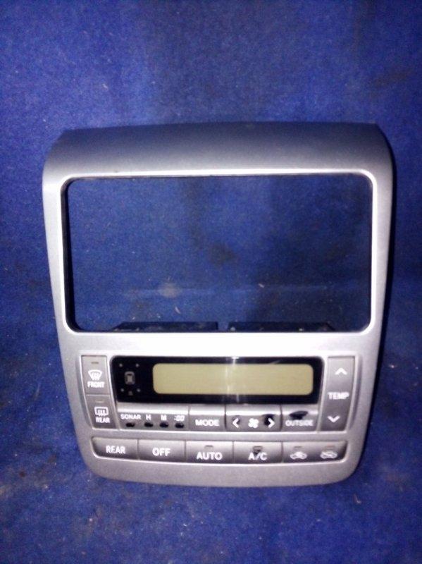 Рамка магнитолы Toyota Alphard ANH15 2AZ-FE 2003
