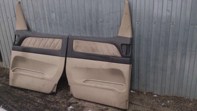 Обшивка двери Toyota Alphard ANH15 2AZ-FE 2003 задняя