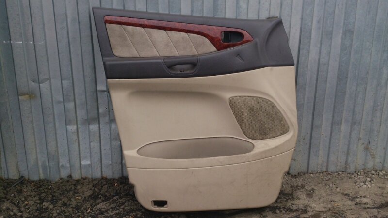 Обшивка двери Toyota Alphard ANH15 2AZ-FE 2003 передняя левая