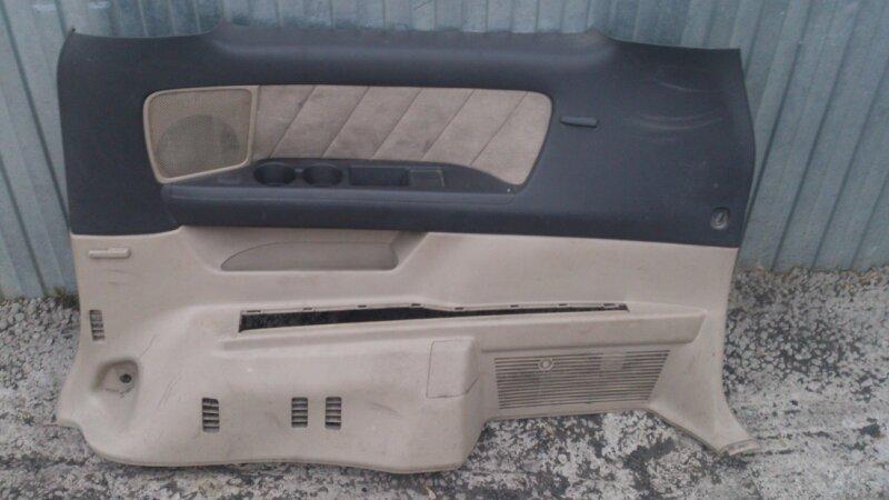 Обшивка салона Toyota Alphard ANH15 2AZ-FE 2003 задняя правая