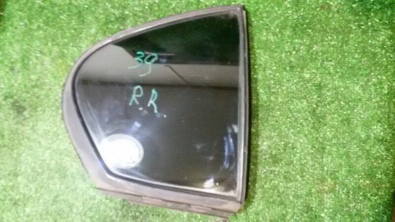 Стекло двери (глухое) Lexus Gs300 GRS190 3GR-FSE 2005 заднее правое