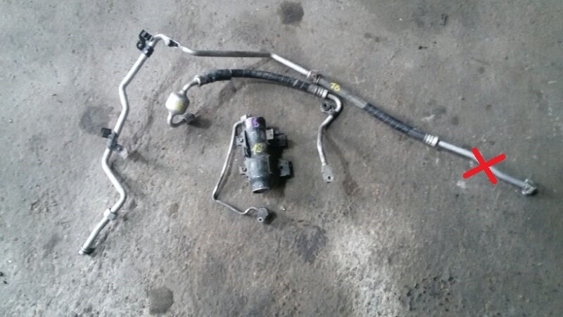 Трубка кондиционера Toyota Raum EXZ10 5E-FE 2000