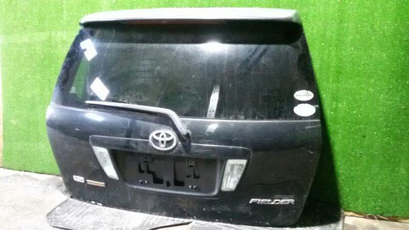 Дверь багажника Toyota Corolla Fielder ZZE-122 1ZZ-FE 2005 задняя
