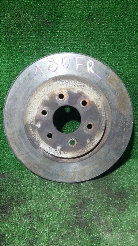 Тормозной диск Nissan Pathfinder R51 YD25 2006 передний правый