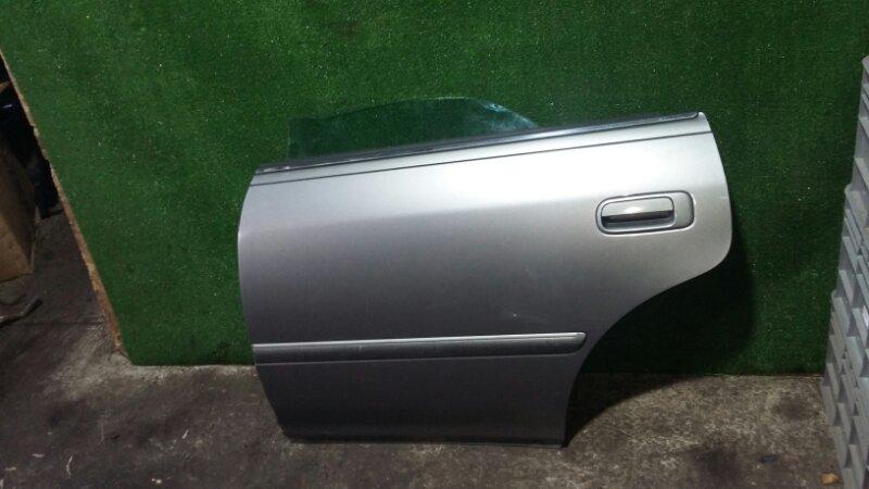 Дверь Toyota Mark Ii JZX100 1JZ-GE 1998 задняя левая