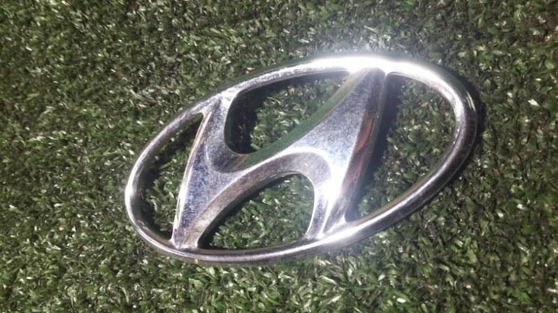 Эмблема Hyundai Solaris G4FA 2014