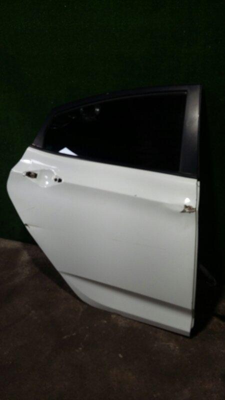 Дверь Hyundai Solaris G4FA 2014 задняя правая