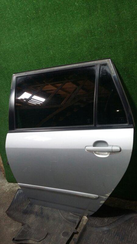Дверь Toyota Corolla Fielder ZZE122 1ZZ-FE 2005 задняя левая