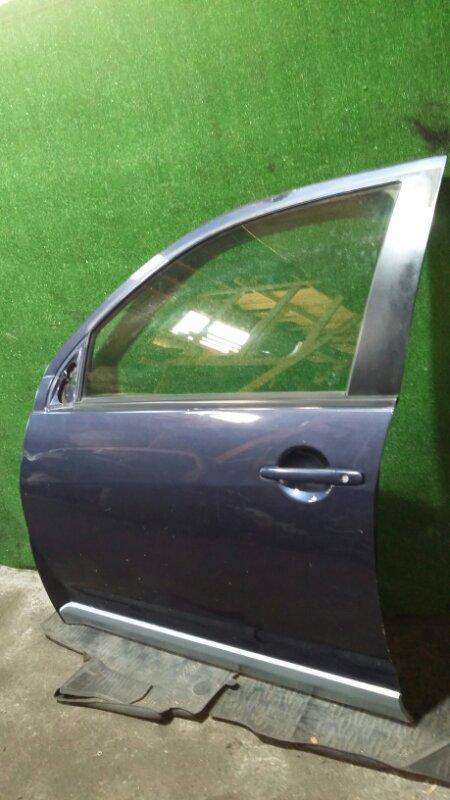 Дверь Mitsubishi Outlander Xl CW5W 4B12 2007 передняя левая