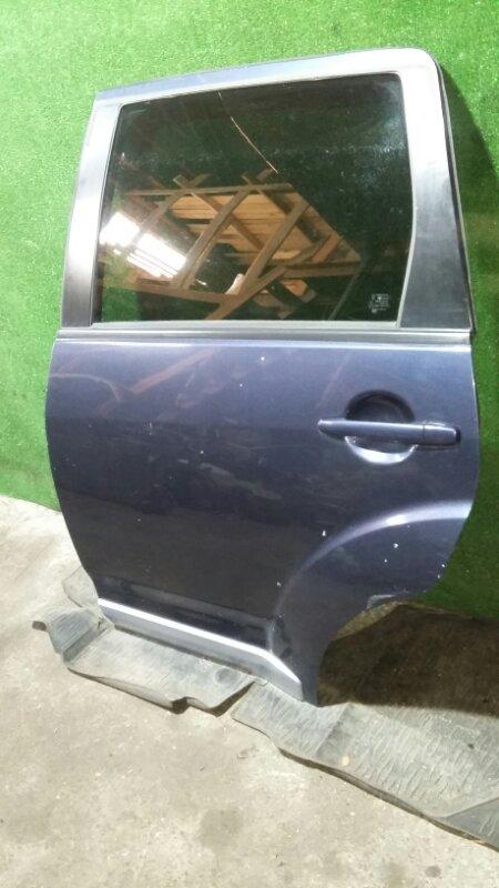 Дверь Mitsubishi Outlander Xl CW5W 4B12 2007 задняя левая