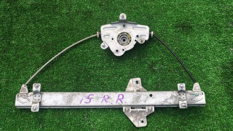 Стеклоподъемник Hyundai Solaris RB G4FC 2012 задний правый