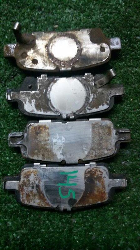 Тормозные колодки Nissan X-Trail NT31 MR20 2011 заднее