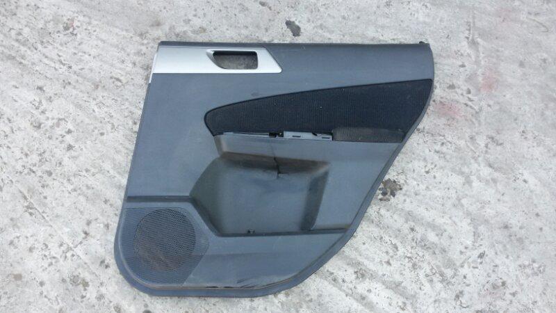 Обшивка двери Subaru Forester SH 2009 задняя правая
