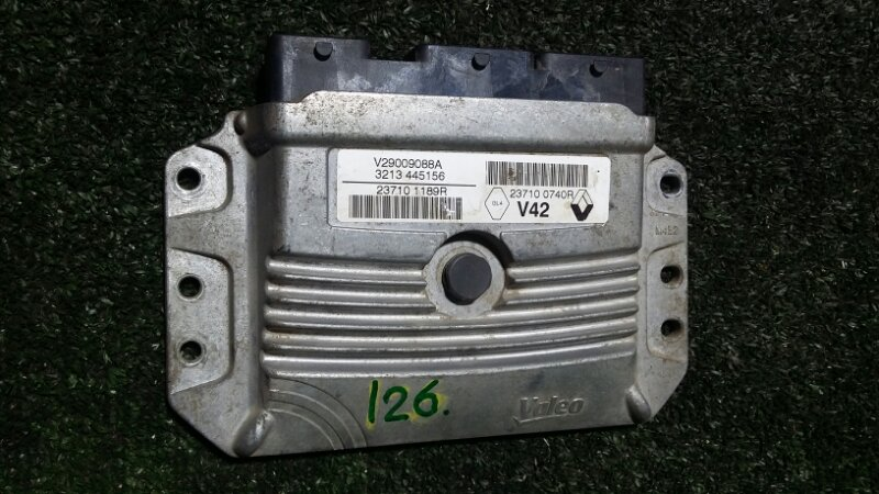 Блок управления двигателем Renault Duster HSA K4MA606 2013