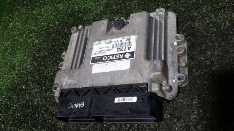 Блок управления двигателем Hyundai Solaris G4FA 2014
