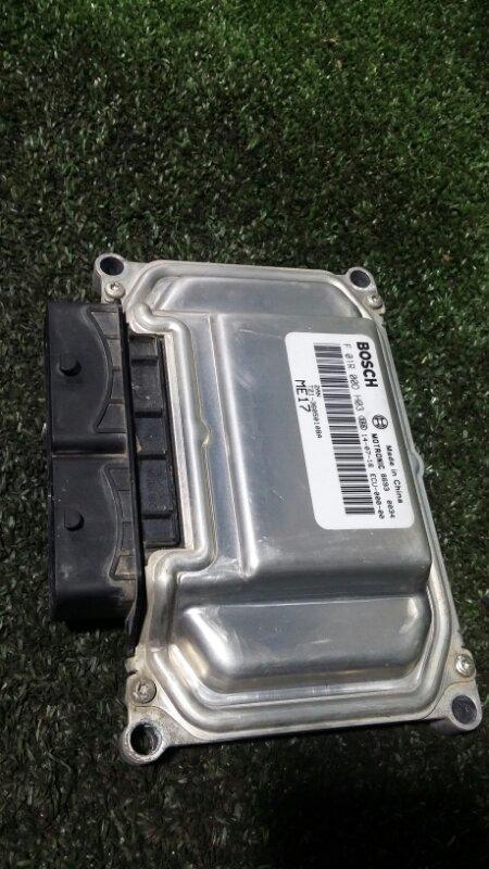 Блок управления двигателем Chery Tiggo T21 SQR484F 2014