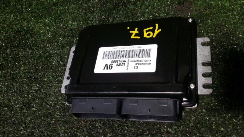 Блок управления двигателем Daewoo Matiz KLYA F8CV 2012