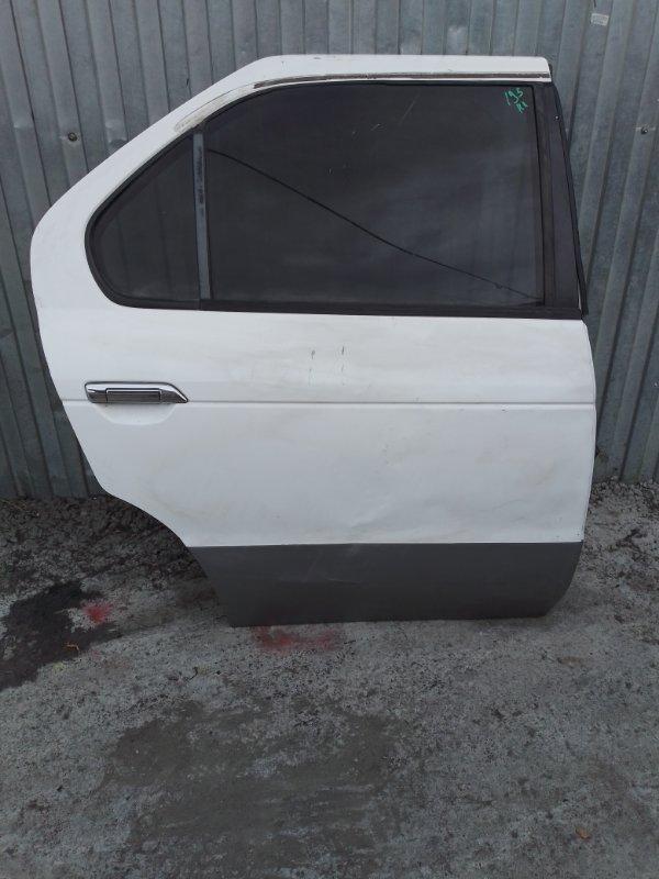 Дверь Nissan R'nessa N30 SR20DE 1997 задняя правая