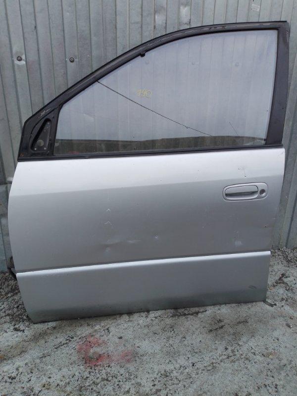Дверь Toyota Ipsum SXM10 3S-FE 1998 передняя левая